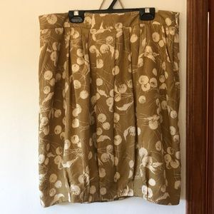 Boden limited edition silk skirt size 10